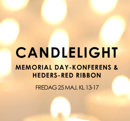 CMD-Konferens & Heders-Red Ribbon 2018